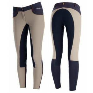 Product shot of womans two-colour breeches