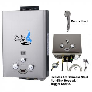 Product shot of water heater