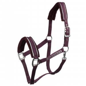 Purple horse halter product shot