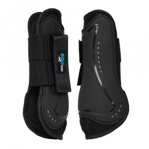 Black horse boot