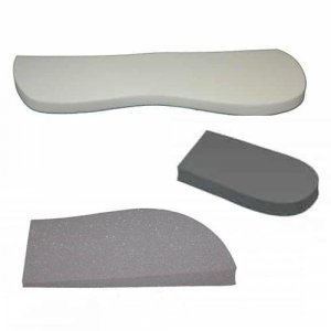 Collection of foam inserts