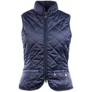Product shot of dark blue vest