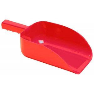 Plastic feed scoop