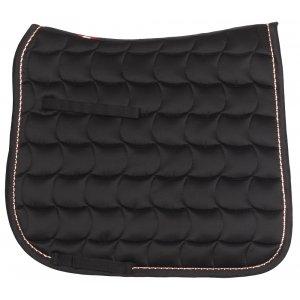 Black horse saddlecloth