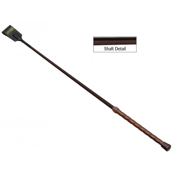 Brown horse whip