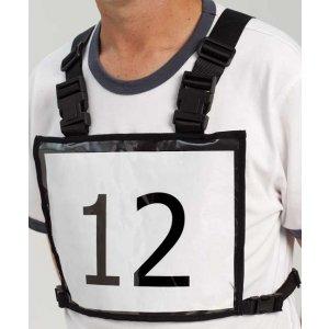 Horse rider number vest